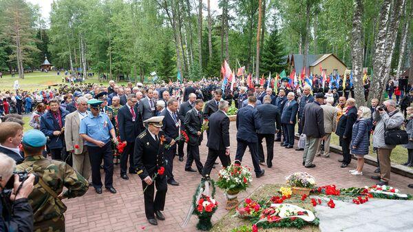 59-я Международная встреча ветеранов Великой Отечественной войны на Кургане Дружбы - Sputnik Латвия