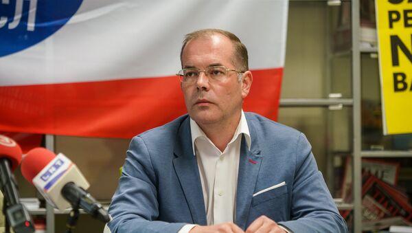 Пресс-конференция Андрея Мамыкина - Sputnik Latvija