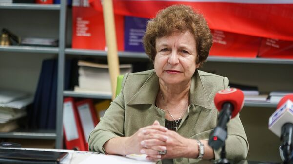 Татьяна Жданок - Sputnik Латвия