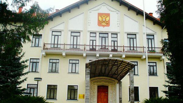 Krievijas vēstniecība Lietuvā - Sputnik Latvija