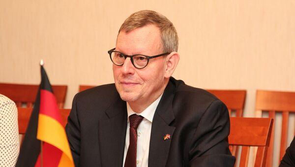 Посол Германии в Латвии Рольф Шуте - Sputnik Latvija