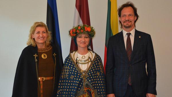 Министры культуры стран Балтии - Sputnik Латвия