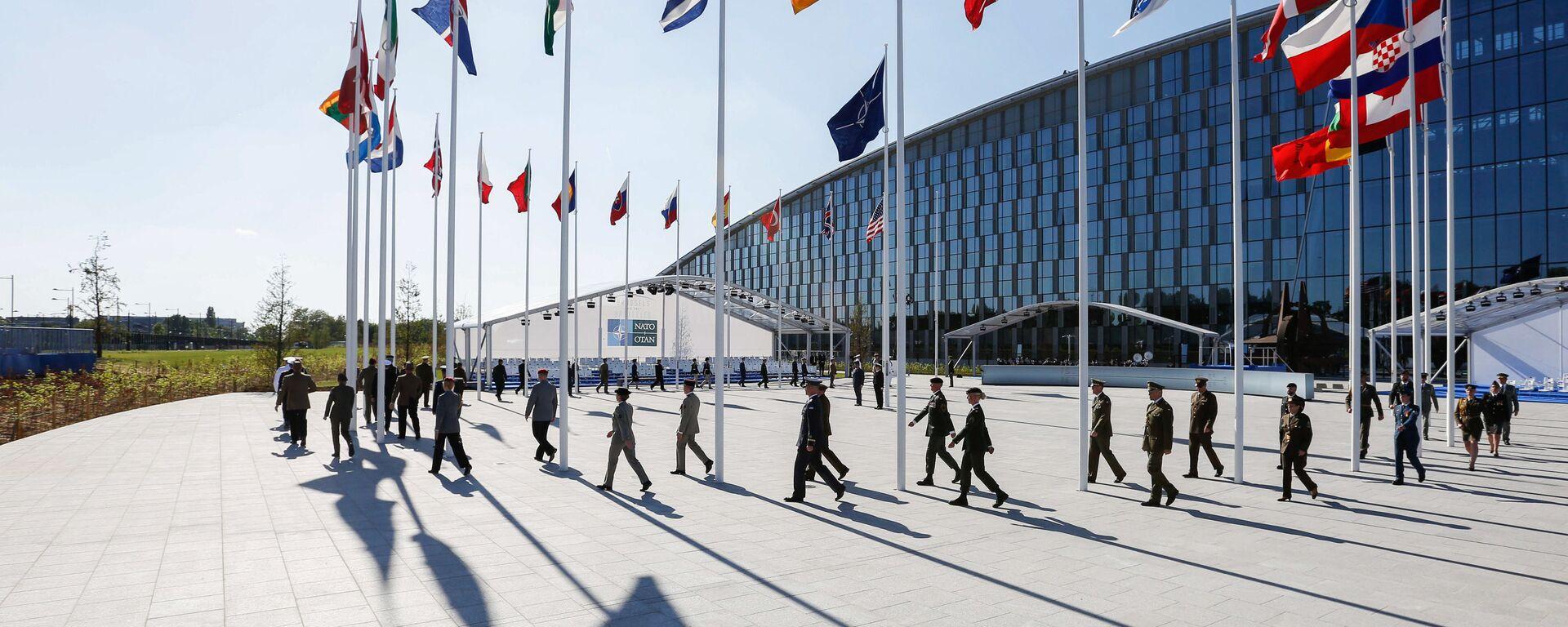 Саммит НАТО в Брюсселе - Sputnik Latvija, 1920, 14.06.2021