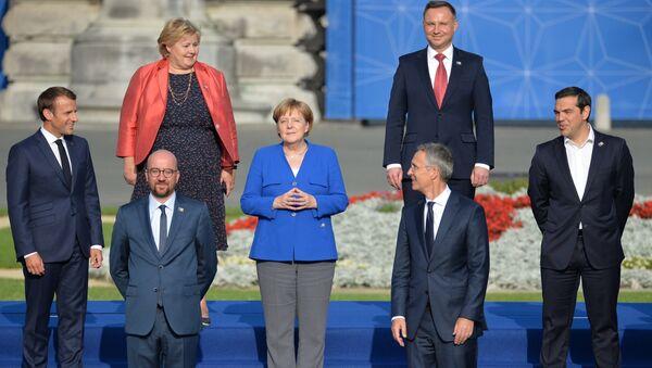 Саммит НАТО в Брюсселе. День первый - Sputnik Латвия