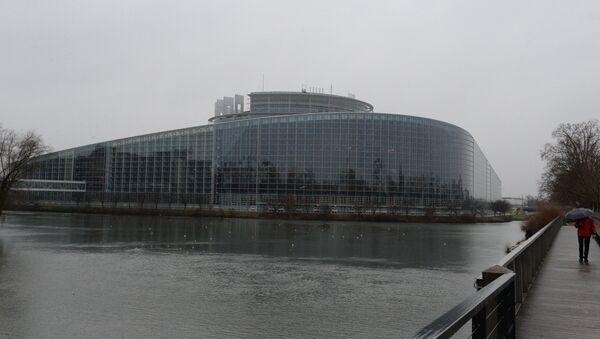 Здание Европарламента в Страсбурге - Sputnik Латвия