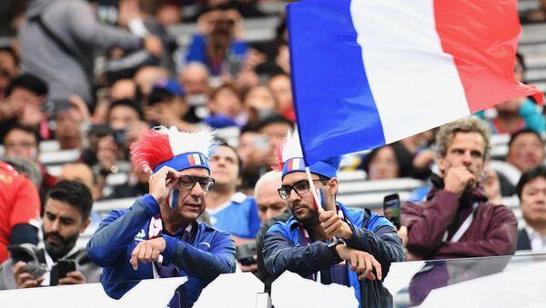 Болельщики сборной Франции - Sputnik Latvija