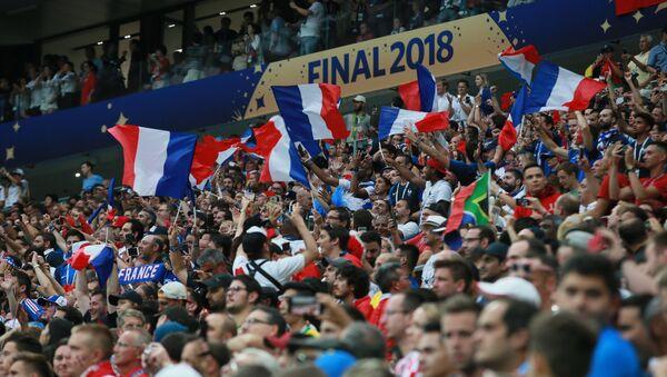 Футбол. ЧМ-2018. Финал. Матч Франция - Хорватия - Sputnik Латвия