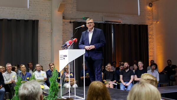 Юрис Пуце на конференции объединения Для развития - За!  - Sputnik Latvija