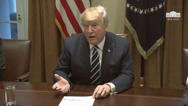 Трамп об отношениях с разведкой и вмешательстве России в выборы США - Sputnik Латвия