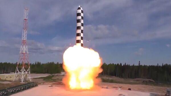 Испытания комплекса Сармат - Sputnik Latvija