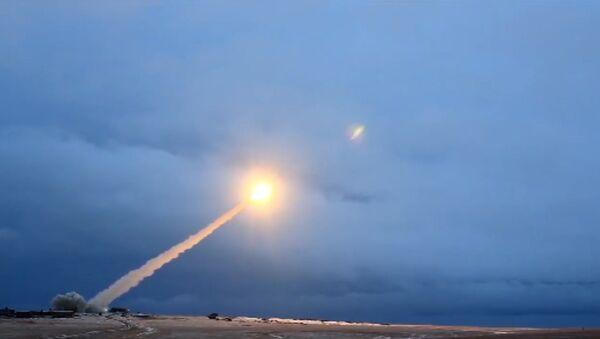 Испытания ракеты Буревестник - Sputnik Латвия