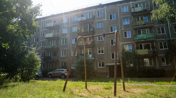 Многоквартирный дом по адресу ул. Юглас 37 - Sputnik Latvija