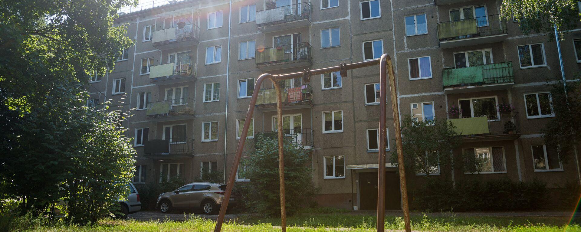 Многоквартирный дом по адресу ул. Юглас 37 - Sputnik Латвия, 1920, 02.06.2021