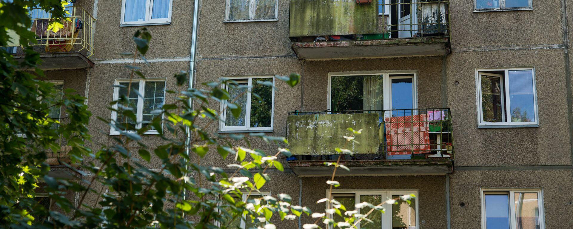 Многоквартирный дом по адресу ул. Юглас 37 - Sputnik Латвия, 1920, 20.08.2021