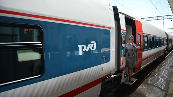 Krievijas dzelzceļš - Sputnik Latvija