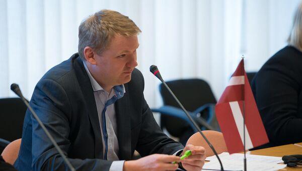 Депутат сейма Эдвардс Смилтенс - Sputnik Latvija