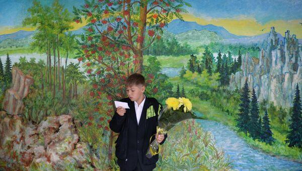 Skolnieks. Foto no arhīva - Sputnik Latvija