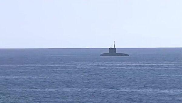 Подводная лодка. Архивное фото - Sputnik Латвия