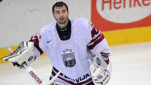 Хоккеист Эдгарс Масальскис - Sputnik Латвия