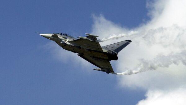 Многоцелевой истребитель Eurofighter Typhoon - Sputnik Latvija