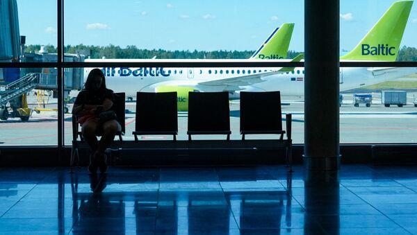 Зал ожидания аэропорта Рига - Sputnik Latvija