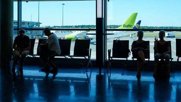 Зал ожидания аэропорта Рига - Sputnik Латвия