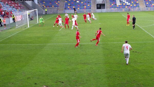 Спартак (Юрмала) уступил Судуве (Мариямполь, Литва) в первом матче третьего квалификационного раунда Лиги Европы УЕФА - Sputnik Латвия