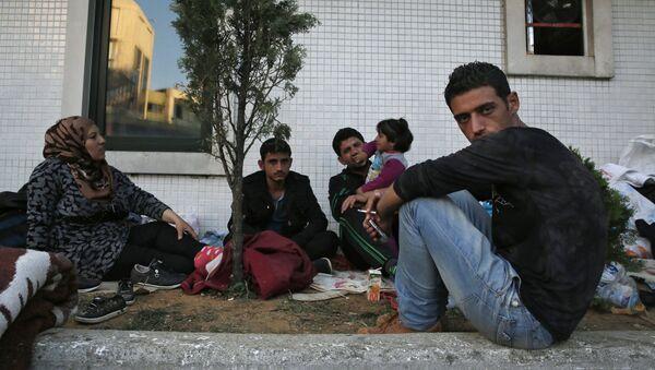 Migranti no Tuvajiem Austrumiem. Foto no arhīva - Sputnik Latvija
