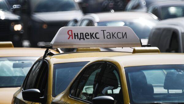 Автомобиль Яндекс.Такси - Sputnik Латвия