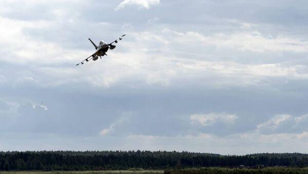 Строительство авиаполигона в Казлу-Руде - Sputnik Латвия