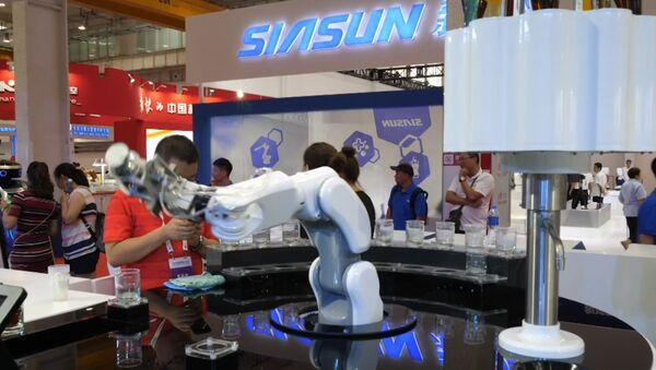Всемирная конференция роботов в Пекине - Sputnik Латвия
