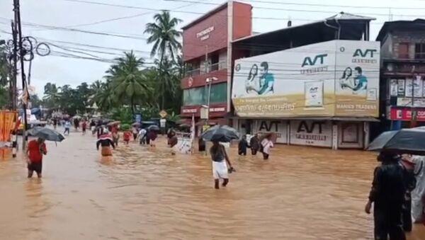 Наводнение в Индии - Sputnik Latvija