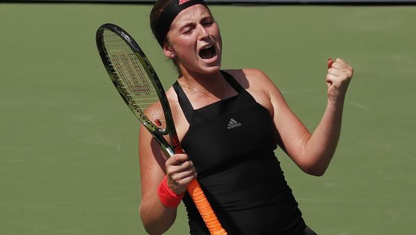 Латвийка Елена Остапенко обыграла немку Андреа Петкович в первом круге US Open - Sputnik Латвия
