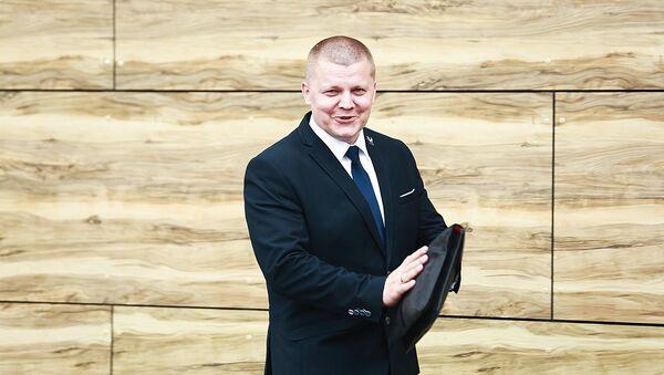 Член Сейма Дайнюс Гайжаускас - Sputnik Latvija