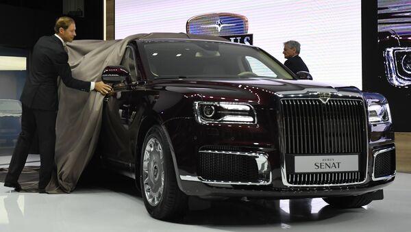 В Москве презентовали седан и лимузин Aurus - Sputnik Латвия