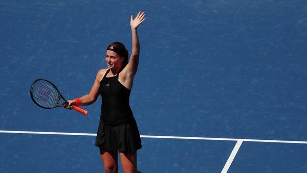 Теннисистка Елена Остапенко на турнире US Open - Sputnik Латвия