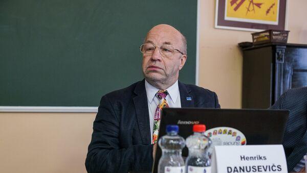 Президент Латвийской ассоциации торговцев Хенрикс Данусевичс - Sputnik Latvija