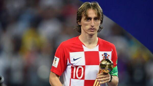 Награждение победителей ЧМ-2018 по футболу - Sputnik Latvija