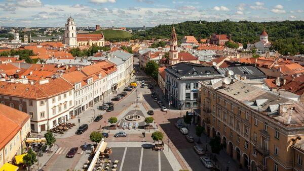 Вид на Старый город - Sputnik Latvija