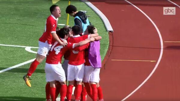 Товарищеский матч Гибралтар – Латвия, 25 марта 2018 - Sputnik Латвия