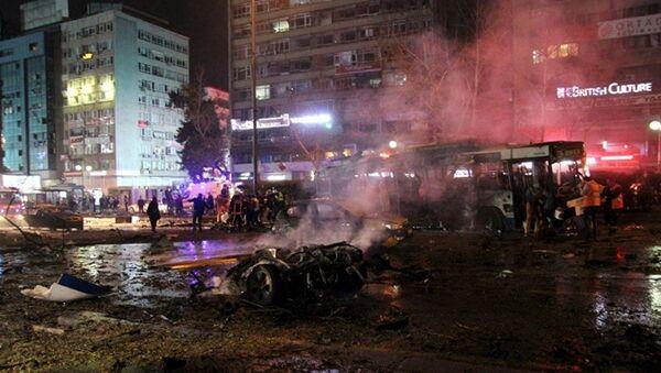 Теракт в Турции 13.03.2016 - Sputnik Латвия
