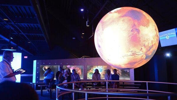 Marsa makets Kosmosa muzejā. Foto no arhīva - Sputnik Latvija