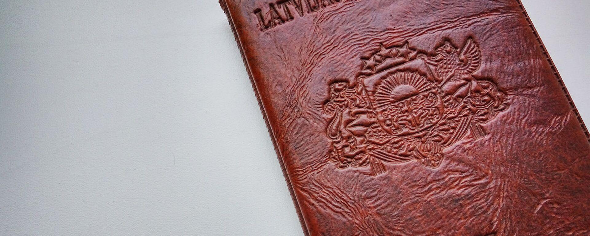 Паспорт гражданина Латвии - Sputnik Латвия, 1920, 16.05.2021