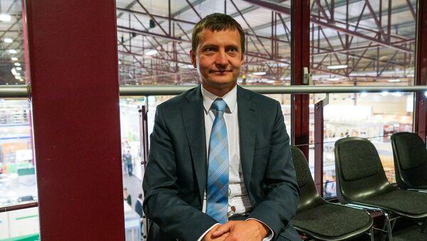 Председатель латвийского общества пчеловодов Армандс Краузе - Sputnik Латвия