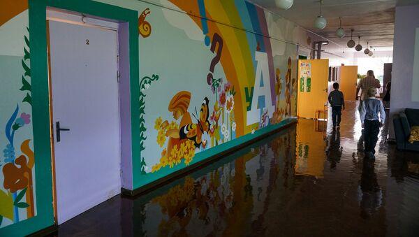 Школьный коридор - Sputnik Латвия