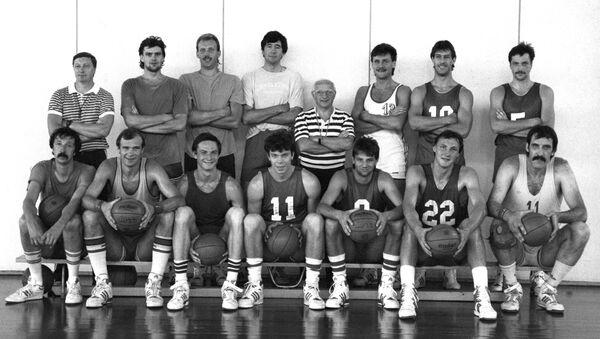 Сборная команда СССР по баскетболу, 1988 - Sputnik Латвия