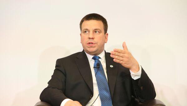 Премьер-министр Эстонии Юри Ратас - Sputnik Latvija