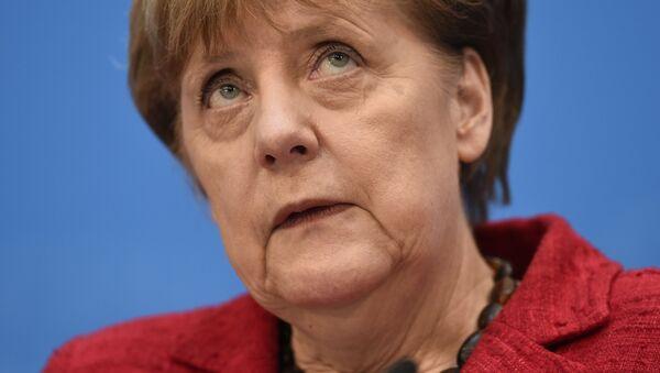 Федеральный канцлер Германии Ангела Меркель - Sputnik Латвия