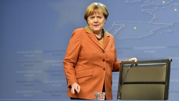 Федеральный канцлер Германии Ангела Меркель - Sputnik Latvija