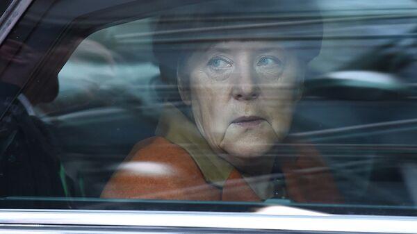 Vācijas kanclere Angela Merkele. Foto no arhīva - Sputnik Latvija